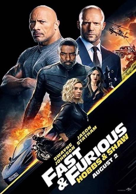locandina (O.V.) Fast & Furious - Hobbs & Shaw - Marcon