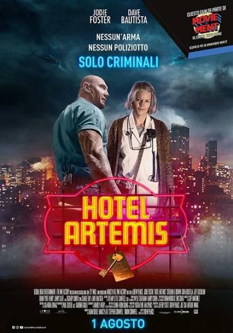 locandina Hotel Artemis - Milano