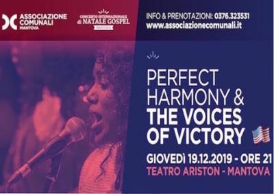 Concerto di natale gospel - Mantova 2019, locandina