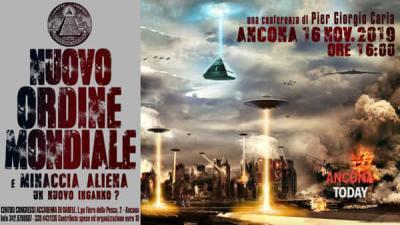 Nuovo ordine mondiale e minaccia aliena: un nuovo inganno? - locandina