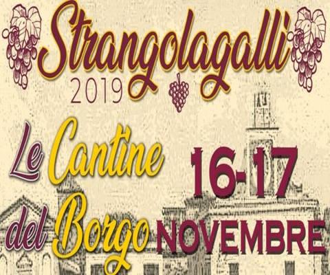 Le cantine del borgo, Strangolagalli 2019