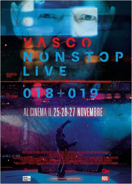 locandina Vasco Non Stop Live 018+019 - Moncalieri