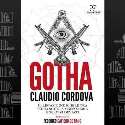Copertina del libro Gotha di Claudio Cordova