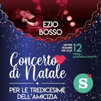 Ezio Bosso - locandina Concerto di Natale