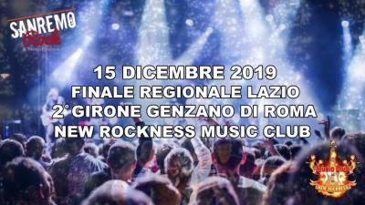 Sanremo Rock finale Lazio