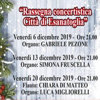 Concerti di Natale Esanatoglia 2019