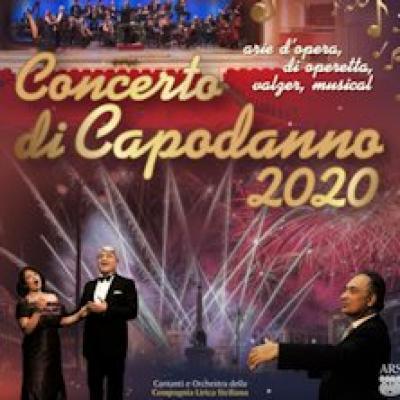 Concerto di Capodanno Catania 2020 locandina