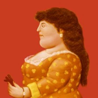 dipinto di Botero