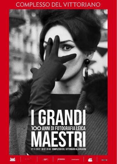 100 anni di fotografia Leica - Roma - dal 17 novembre - al 18 febrrario 2018