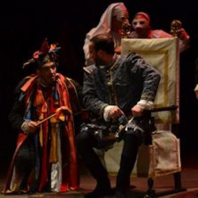 una scena del Rigoletto