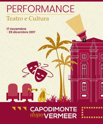 Performance nell'ambito della rassegna Capodimonte dopo Vermeer, dal 17 novembre al 29 dicembre 2017. © Museo e Real Bosco di Capodimonte.