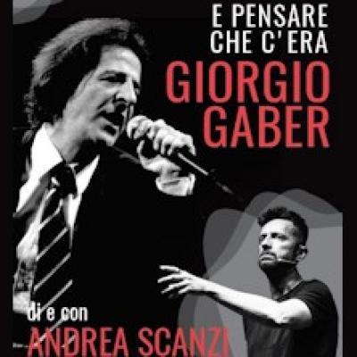 Giorgio Gaber Andrea Scanzi