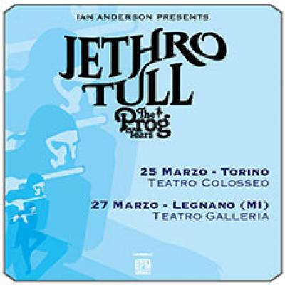 Jethro Tull locandina The Prog Years