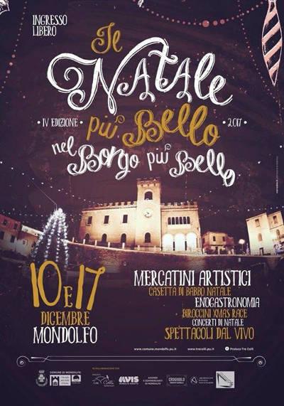 Il Natale più bello nel Borgo più bello - Mondolfo (PU) - 10,17 dicembre