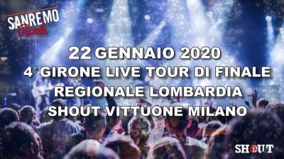 Sanremo Rock 2020 Lombradia finali