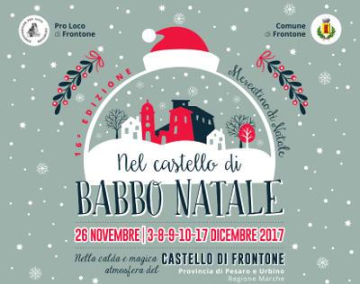 Nel Castello di Babbo Natale @ Frontone - dicembre 2017