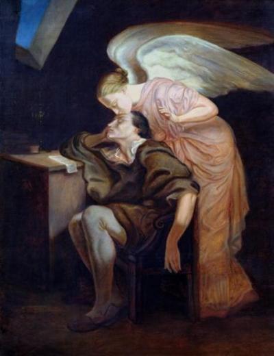 Il bacio della musa