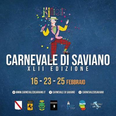 Carnevale Savianese 2020, 42^ edizione. A Saviano (NA) nei giorni 16, 23 e 25 febbraio 2020. © Fondazione Carnevale di Saviano.