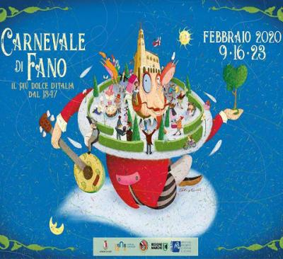 Carnevale di Fano 2020: 9, 16, 23 febbraio © Ente Carnevalesca.