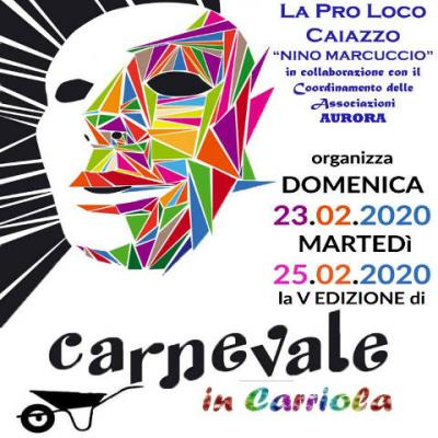 Carnevale in carriola 2020 - Caiazzo
