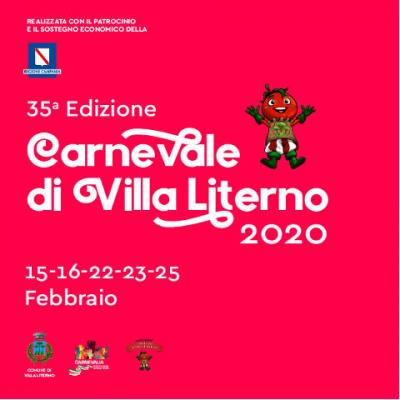 Carnevale di Villa Literno, XXXV edizione. 15, 16, 22, 23  e 25 febbraio 2020.