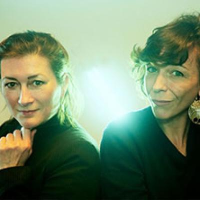 Lisbeth Gruwez e Claire Chevallier