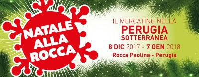Natale alla Rocca @ Perugia - 08 dic. 2017-07 gen. 2018