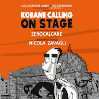 Kobane calling on stage