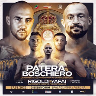 Patera vs Boschiero Dazn Boxing