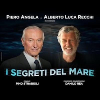 Piero Angela e  Alberto Luca Recchi