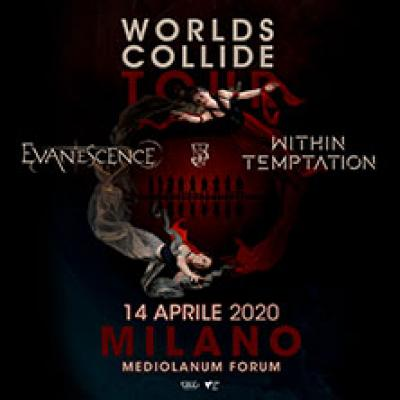 Evanescence e Within Temptation - Worlds Collide Tour