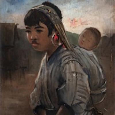 Dipingere l Asia dal vero