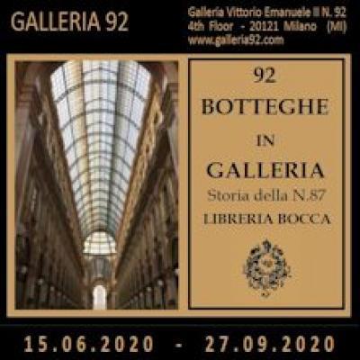 92 botteghe in Galleria
