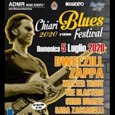 Chiari Blues Festival 2020 locandina