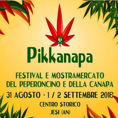 Pikkanapa 2020 - Festival e Mostra Mercato del Peperoncino e della Canapa @ Jesi. 04, 05, 06 settembre 2020. © Pikkanapa.