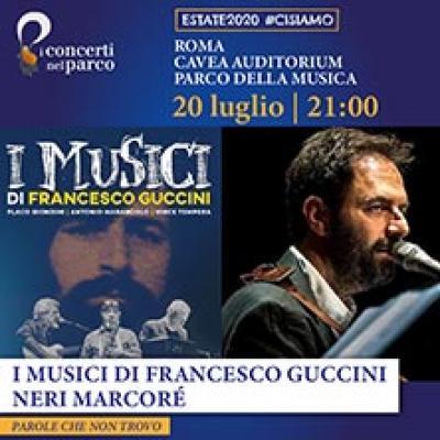 Neri Marcorè con i Musici di Francesco Guccini