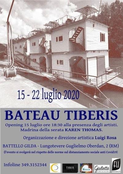 Bateau Tiberis locandina