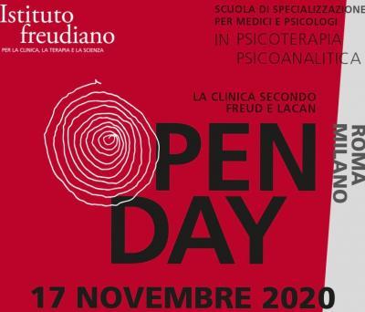 open day novembre Istituto Freudiano