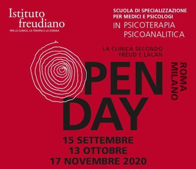 open day settembre Istituto freudiano