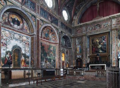 Interno Chiesa San Vittore a Meda