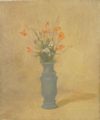 Giorgio Morandi Fiori, 1924 (V.88) olio su tela, cm 58 x 48 Istituzione Bologna Musei | Museo Morand