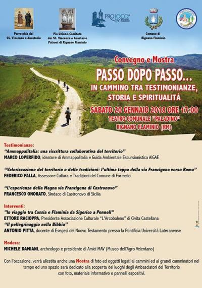 Passo dopo Passo - Rignano Flaminio (RM) - 20 gennaio