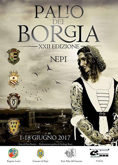 Palio dei Borgia di Nepi ed. 2017