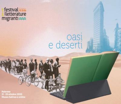 festival delle letterature migranti 2020 - Palermo; manifesto