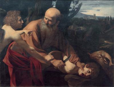 Caravaggio - sacrificio di Isacco
