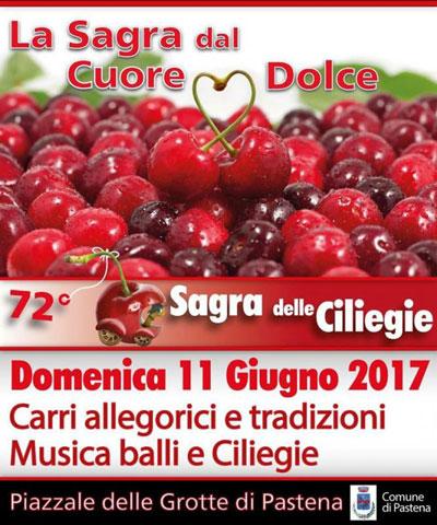 sagra delle ciligie di Pastena 2017 locandina