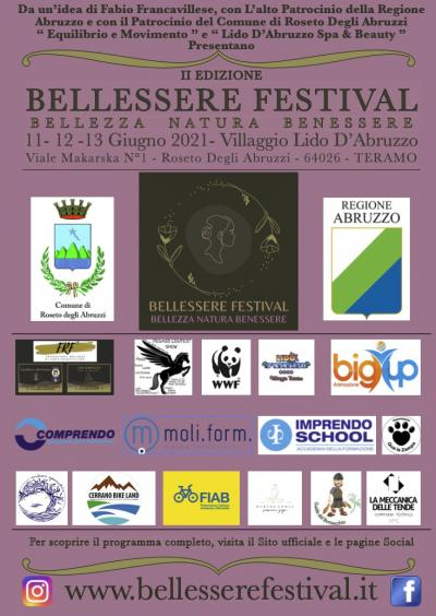 locandina Bellessere festival 2021