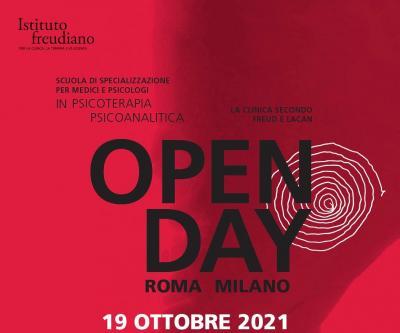 Open day Istituto freudiano ottobre 2021
