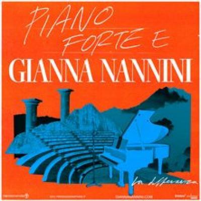 piano forte e Gianna Nannini