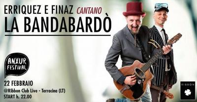 Erriquez e Finaz cantano la Bandabardò - Terracina (LT) - 22 feb